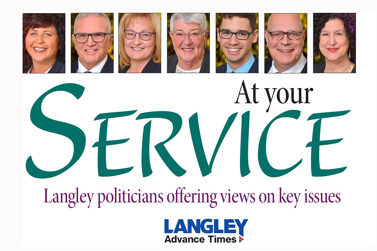 Do you have a question you'd like to see put to the Langley City council? Email your idea to editor@langleyadvancetimes.com.