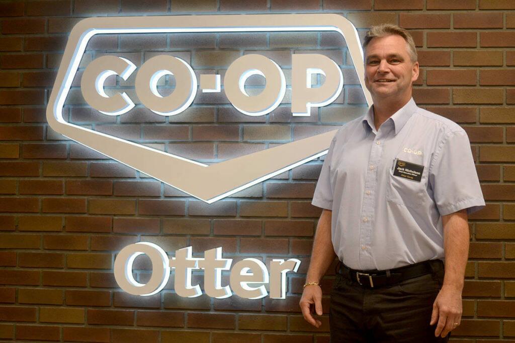 Jack Nicholson, CEO of Otter Co-op. (Aldergrove Star files)