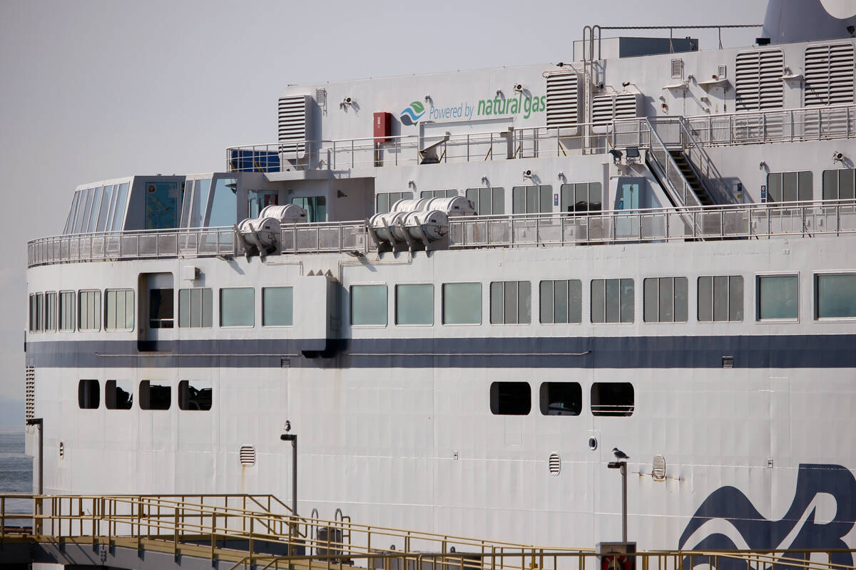 BC Ferries has cancelled a number of sailings scheduled for Monday, Oct. 25, between Vancouver Island and the Lower Mainland in anticipation of rough seas. (News Bulletin file photo)