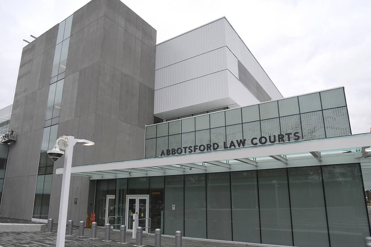 The Abbotsford Law Courts. (John Morrow/ Abbotsford News file)