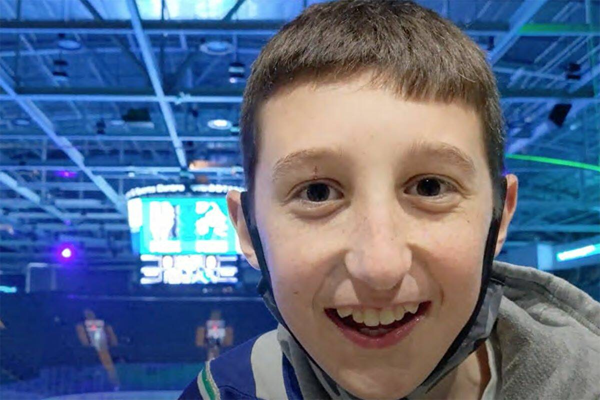 YouTube personality BritBoy Hockey attended Sunday's Abbotsford Canucks game against the Henderson Silver Knights and enjoyed the experience. (YouTube)