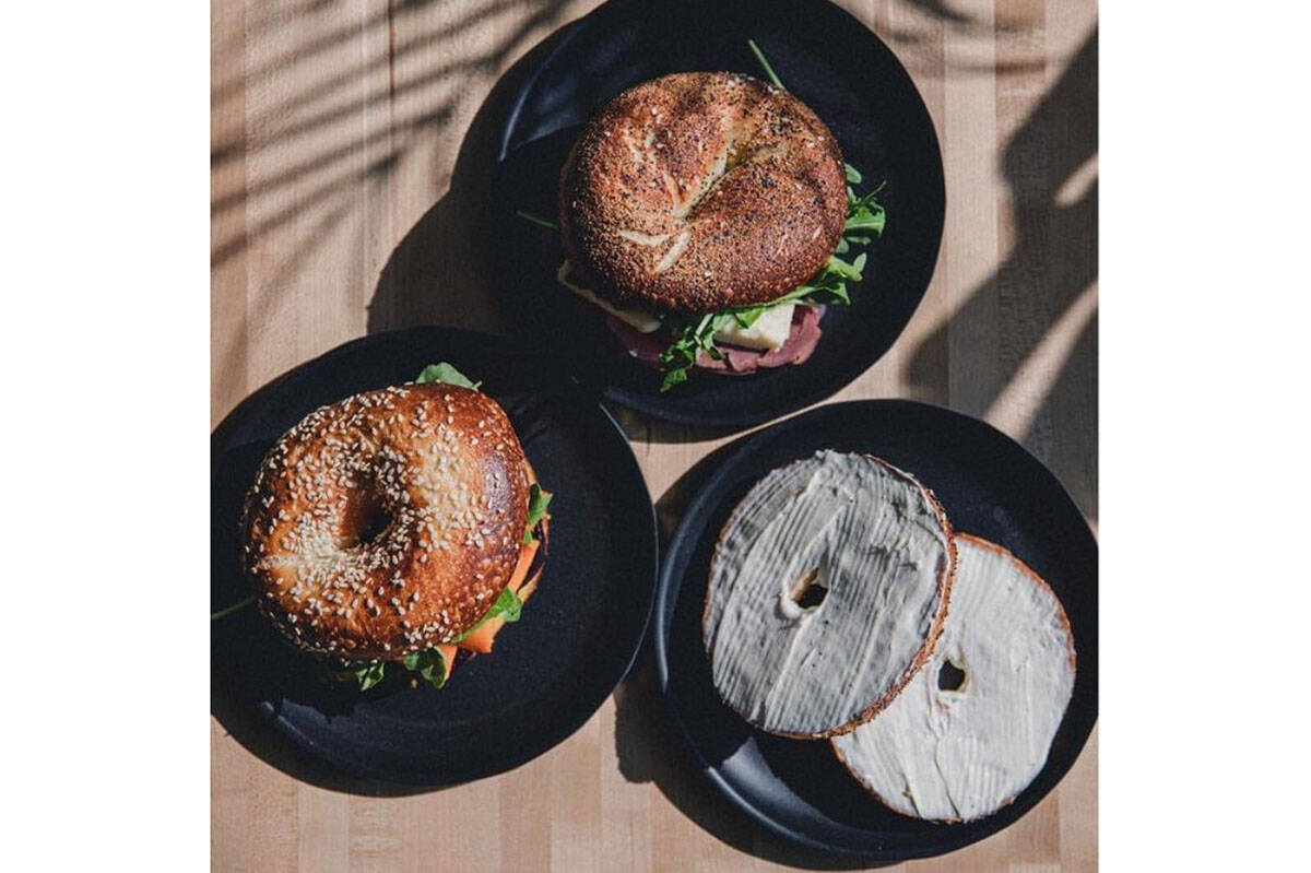 Abbotsford's Good Kid Coffee has offered free bagels to the Abbotsford Canucks. (Instagram)